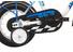 Vermont Race Boys kinderfiets 12 inch blauw